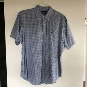 Polo Ralph Lauren short sleeve button down.